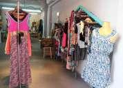 Fondo de comercio local de ropa y taller