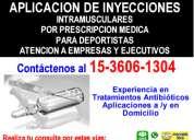 Aplicacion de inyecciones palermo tfno *15-3606-1304*