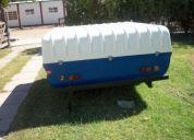 Gabiota casilla trailer