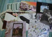 Coleccion vinilo led zeppelin impecable estado!!!!!!!!!