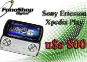 sony ericsson xperia play 3g americano psp wifi android 2.3 nuevo en caja con garantía