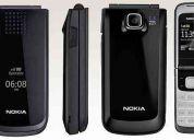 Nokia 2720 libre + radio fm y 1.3mp sim uso completamente nuevo....