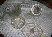 Vendo vajillas de cristal urgente