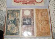 Vendo  monedas y billetes antiguos de distintos paises