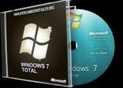 Windows 7 en todas sus versiones para 32bits y 64 bits autoactivable