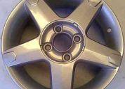 Llantas originales aleación chevrolet corsa 5 rayos r14