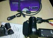Filmadora benq dv m21 full hd 1080p como nueva + accesorios