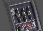 Ecualizador activo guitarra 3 bandas afinador mr shimura