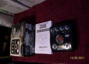 Pedalera zoom g2 nueva en caja!!!