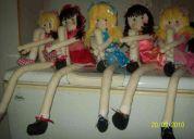 Muñecas soft de patas largas