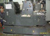 Gto 2 col. form 36x52 kompac y equipo numerador