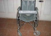 Vendo silla de rudas reforzada semi nueva muy poco uso $750