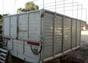 Vendo caja mudancera de carrocera tipo 4 ases