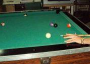 Vendo mesa de pool marmol profecional