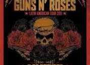 Vendo entrada campo vip guns n roses