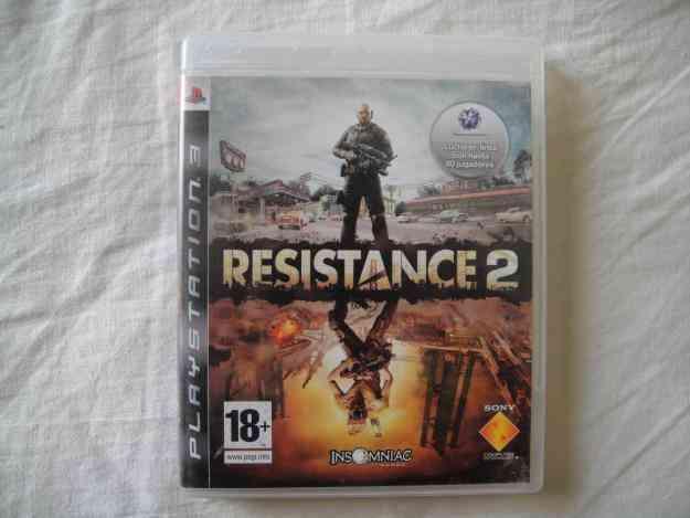 vendo juego ps3 RESISTANCE 2
