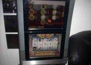 Tragamonedas doble pantalla de casino impecables sin uso !!!
