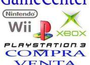 Compro playstation 3 pago efectivo 4743-4034 compra y venta xbox 360 nintendo wii todas