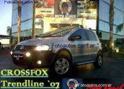 volkswagen crossfox--trendline  2007, córdoba