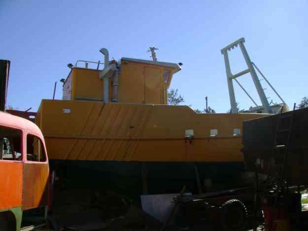 vendo barco pesquero artesanal 9,90, con permiso de pesca de langostino rawson,variada