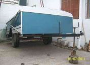 Vendo trailer fabricacion casera
