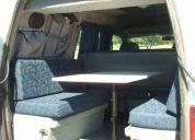 Peugeot expert 2001 preparada y equipada para acampar