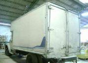 Vendo caja paquetera para camion marca bonano.