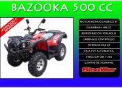Bloower bazooka 500cc - los mejores precios--creditos a todo el pais...