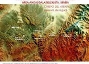 Reservas minerales oro/cobre - cerro atajo - catamarca - argentina