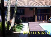 Alquilo casa en bombas sc brasil com piscina