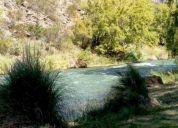 Terreno sobre río atuel - lote de 2500 m2