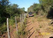 Dueño vende 2385 hect, ruta nª81   embarcacion, salta