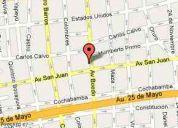 Local de 26 m2 en galería, boedo nº 969, entrepiso y subsuelo, capital federal (55)