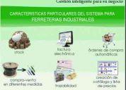 Software para corralones, ferreterias industriales y distribuidoras