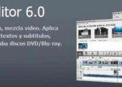 Edicion video con avs video editor,  video remaker, video converter simple y profesional