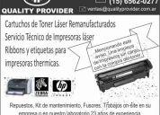servicio tecnico impresoras hp  hewlett packard & lexmark