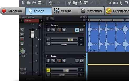 MAGIX Samplitude Music Studio 17. TODO MAGIX NUEVA GENERACION MAGIX MX