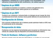 Servicio tecnico informatico empresarial y domestico (flores)