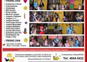 Cumpleaños animados fiestas infantil 4644-5432