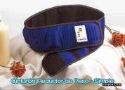 Cinturon reductor, anticelulitico y de masajes