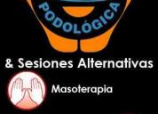 Podologia, masajes descontracturantes
