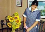 Agencia ofrece personal de limpieza para su hogar.