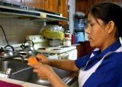 servicio de domestica,limpieza,niñera,acompañantes adultos.