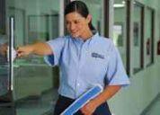 Ofrecemos servicios de limpieza y mantenimiento