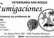 Fumigacion    contactenos al tel: 03752-420142
