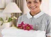 Chicas y señoras para limpieza en casas de familia x horas o con cama para buenos aires