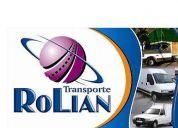 Transporte de cargas generales / fletes / repartos / distribución
