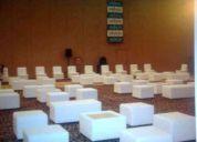 Equipamiento- alquiler de equipos- para eventos- rosario- ( equipamiento mobiliarios )
