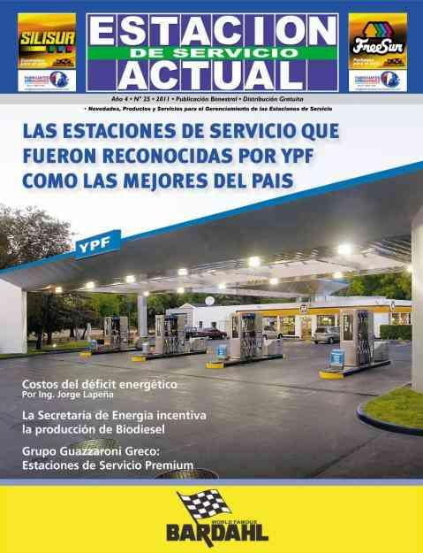 La revista de los Proveedores de Estaciones de Servicio, es ESTACION DE SERVICIO ACTUAL