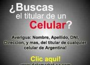 Busca averiguar datos de una persona ? lea aca : datos de personas argentina